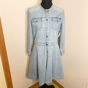NWT GAP Women's Denim 1969 Jean Dress Button Down